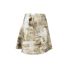 Behind.Silver-flare-skirt-front