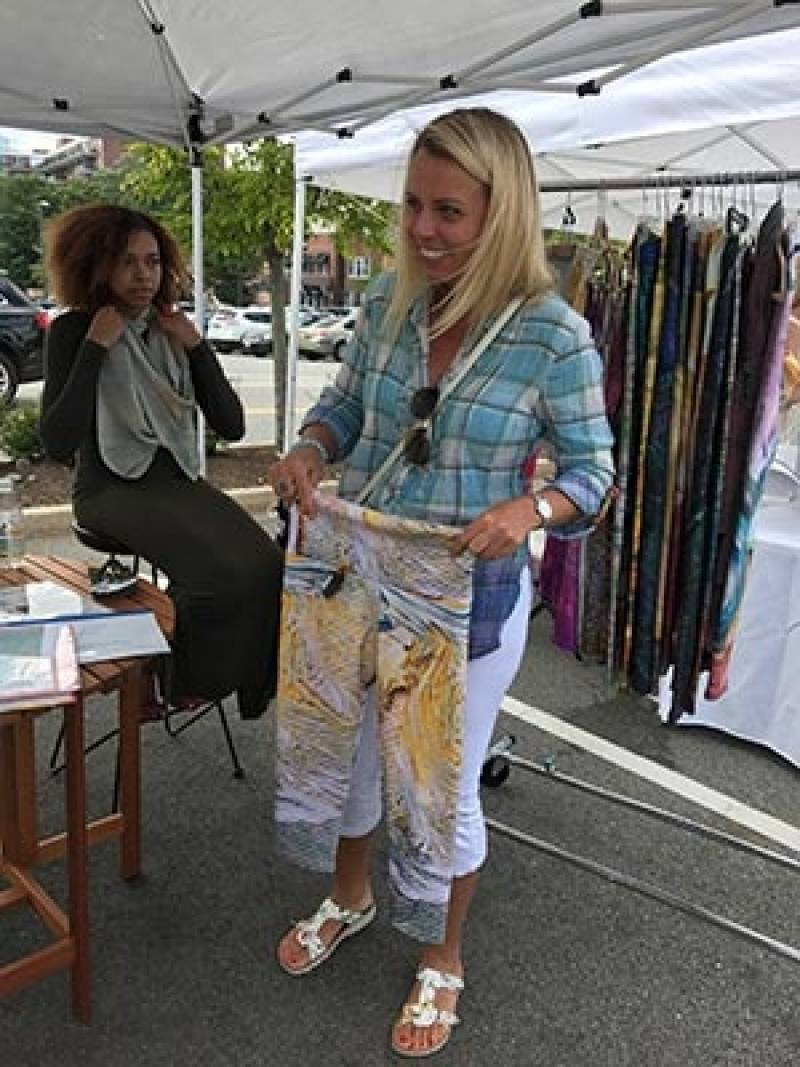 Art in the Square Pop-up Chestnut Hill