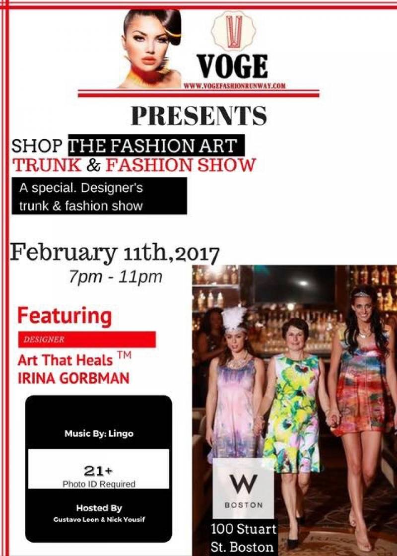 VOGE Runway @ W Hotel Boston on Saturday, February 11, 2017