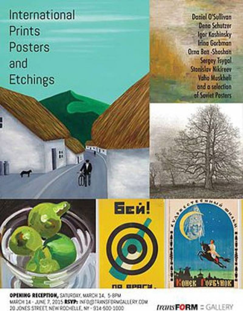 International Prints, Posters and Etchings Exhibit